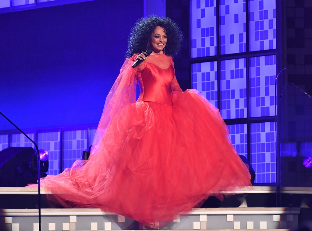 Diana Ross Celebrates 75th Birthday With Family and on Grammy Stage