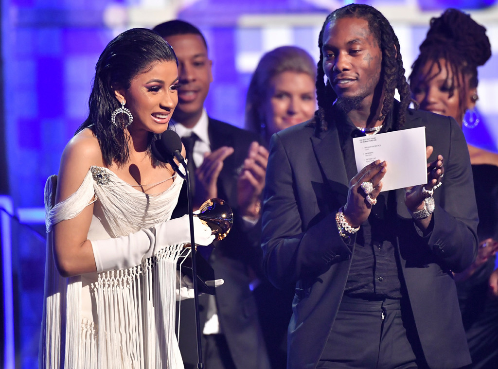 Grammy Winners: Cardi B Holds Back Tears As She Makes History With Best
