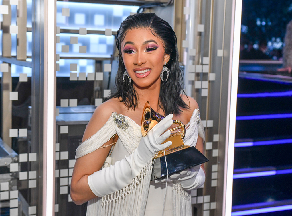Cardi B, 2019 Grammys, Grammy Awards, Candid Moments