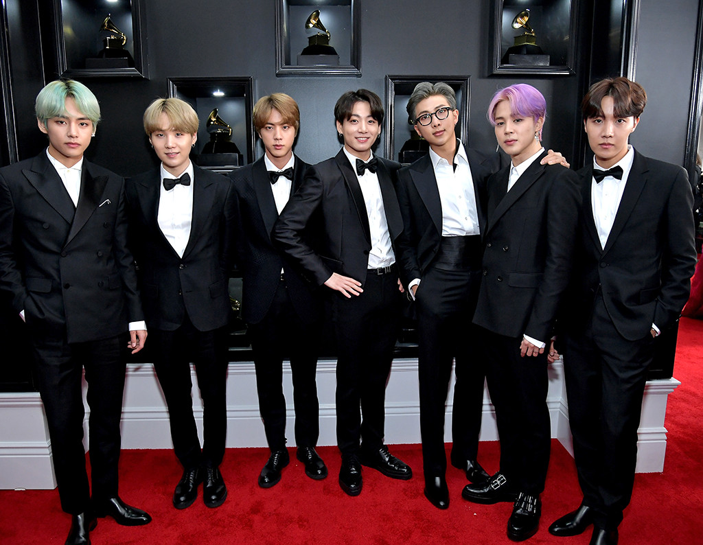 bts is so thankful to attend the 2019 grammys e online 2019 grammys