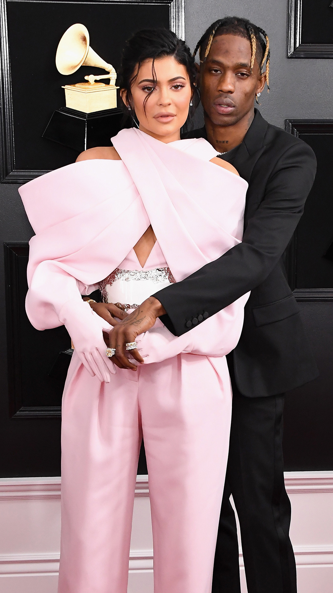 Travis Scott, Kylie Jenner, 2019 Grammys, 2019 Grammy Awards, Couples