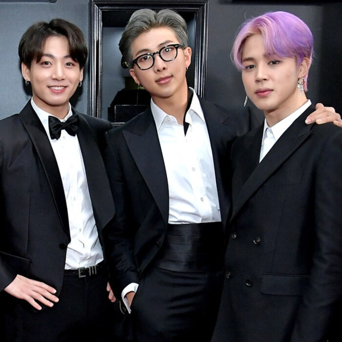 Image result for bts grammy rm