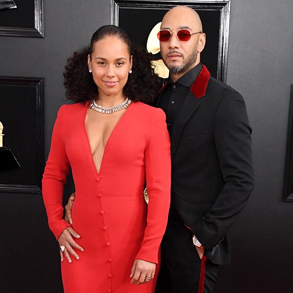 Alicia Keys and Swizz Beatz Are Couple Goals at 2019 Grammy Awards
