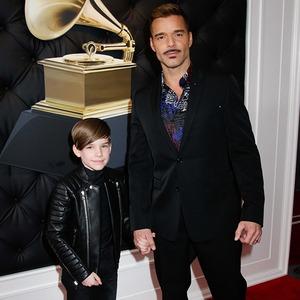 Ricky Martin, Matteo Martin, 2019 Grammys, 2019 Grammy Awards, Celeb Kids
