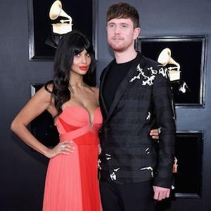 Jameela Jamil, James Blake, 2019 Grammys, 2019 Grammy Awards, Couples