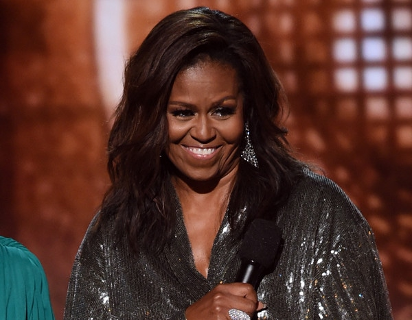 Michelle Obama Is a True Rock Star During Surprise Grammys Appearance