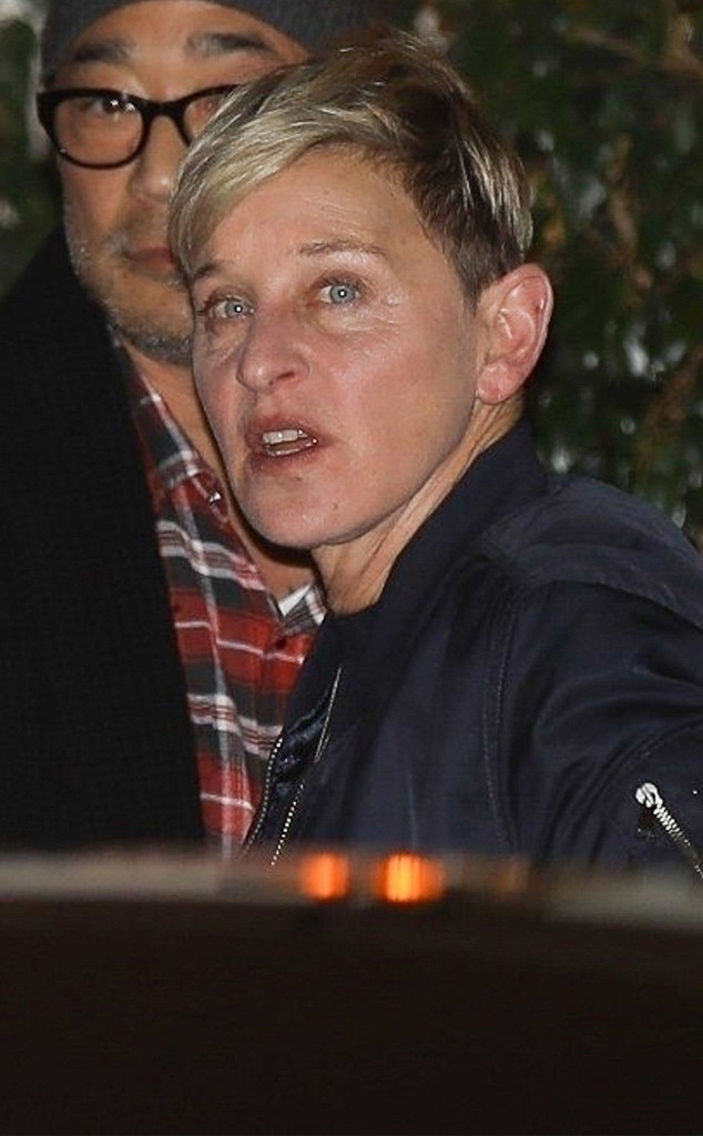 Ellen DeGeneres, Jennifer Aniston's 50th Birthday Party