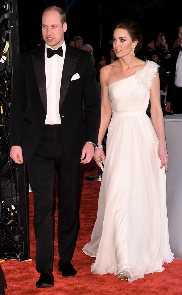 Prince William, Kate Middleton, 2019 BAFTAs