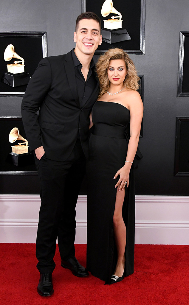 Andre Murillo, Tori Kelly, 2019 Grammys, 2019 Grammy Awards, Couples