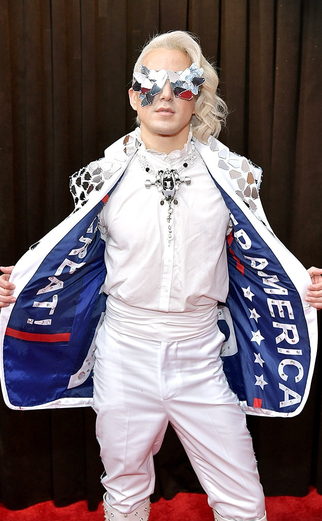 Ricky Rebel, 2019 Grammys, Most outrageous outfits