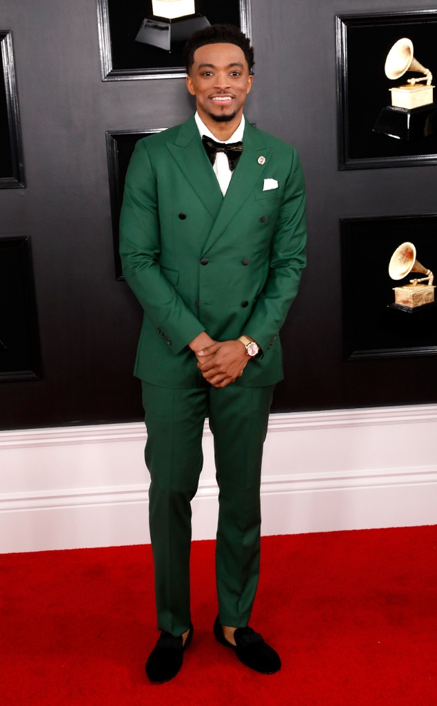 Jonathan McReynolds, 2019 Grammys, 2019 Grammy Awards, Red Carpet Fashions
