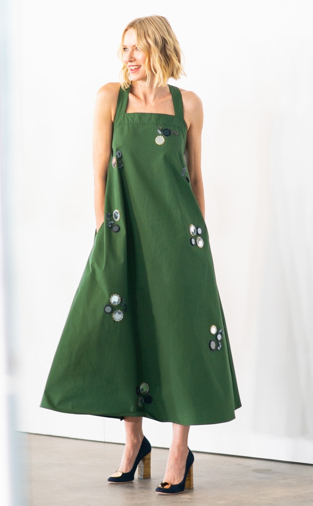 Naomi Watts, Tory Burch Show, Celebs at Fashion Week, 2019