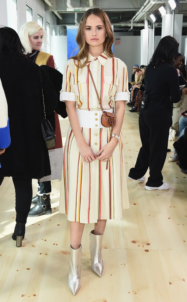 Debby Ryan, Tory Burch Show, Celebs at Fashion Week, 2019