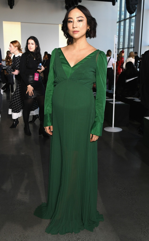Greta Lee, Self-Portrait Show, Celebs at Fashion Week, 2019