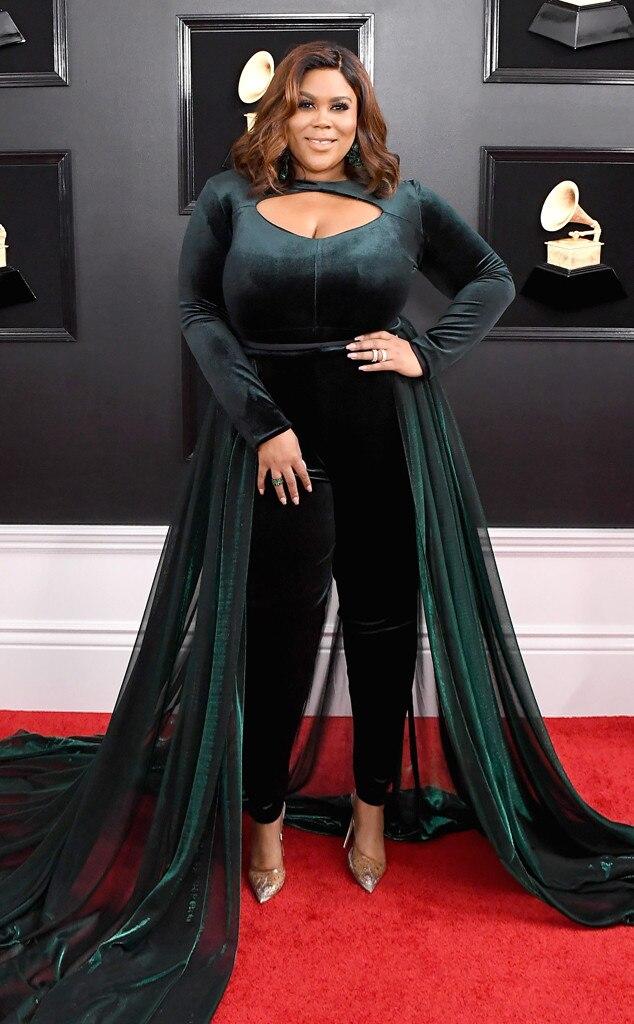 Nina Parker From Os Famosos No Tapete Vermelho Do Grammy