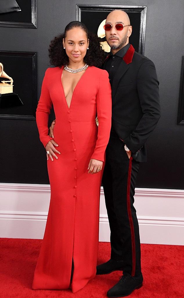 Alicia Keys, Swizz Beatz, 2019 Grammys, 2019 Grammy Awards, Couples