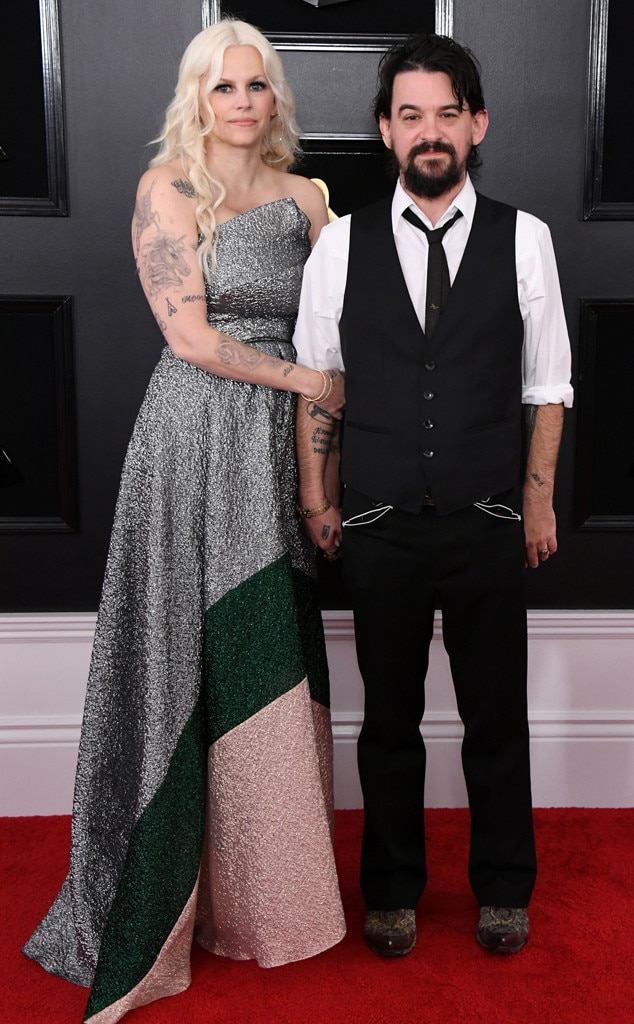 Shooter Jennings & Misty Swain -  The singer-songwriter steps out for the Grammys alongside his beautiful wife.