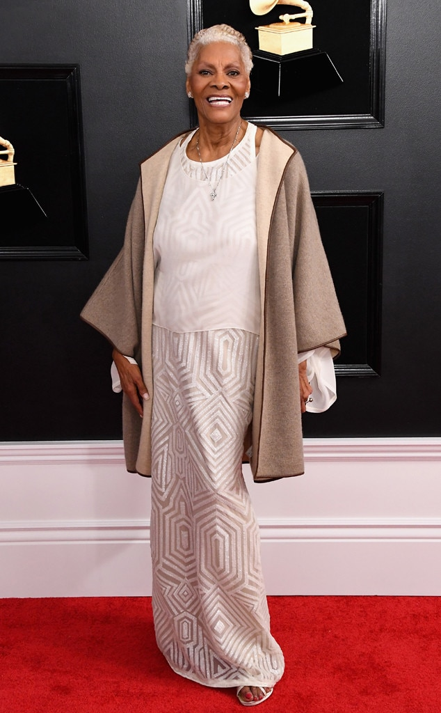 Dionne Warwick, 2019 Grammys, 2019 Grammy Awards, Red Carpet Fashions