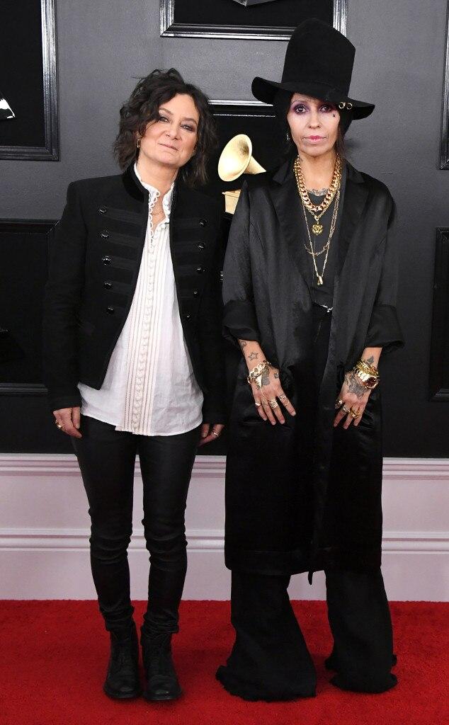 Sara Gilbert, Linda Perry, Couples, Grammy Awards 2019
