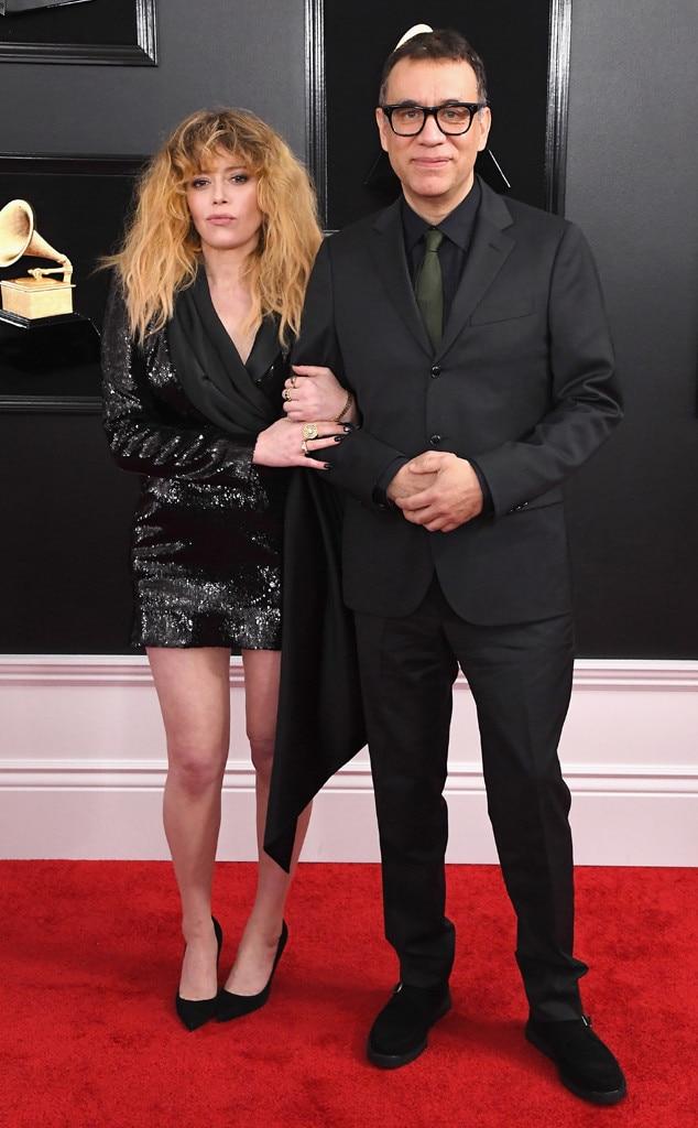 Fred Armisen, Natasha Lyonne, Couples, Grammy Awards 2019