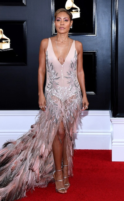 Jada Pinkett Smith, 2019 Grammys, 2019 Grammy Awards, Red Carpet Fashions
