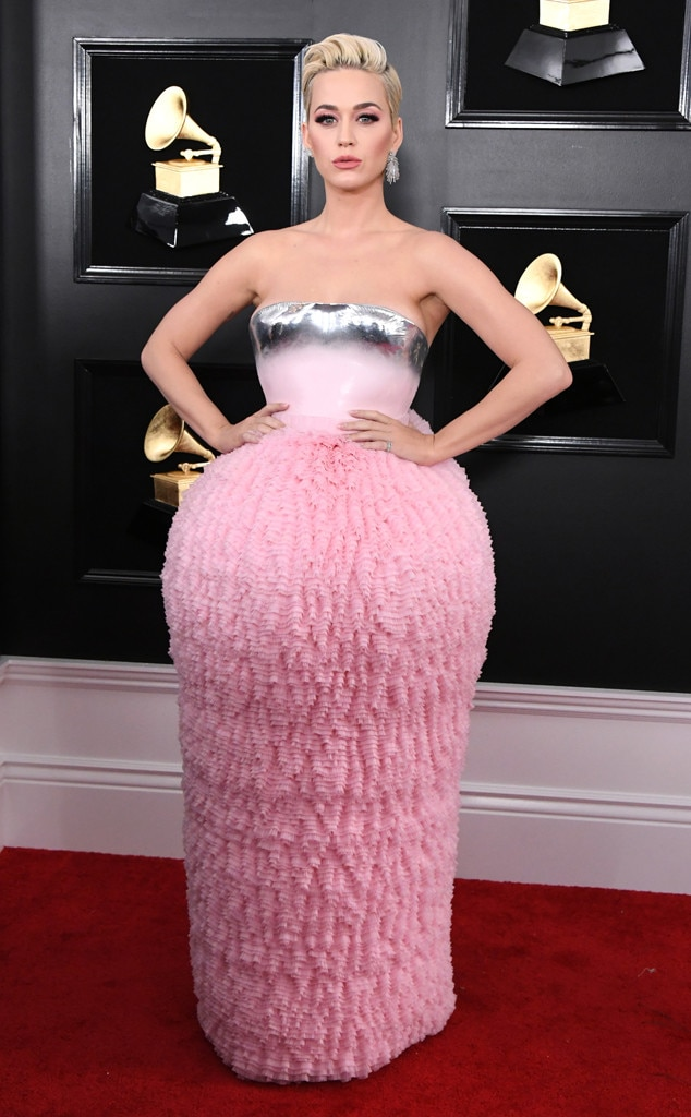 Katy Perry, 2019 Grammys, 2019 Grammy Awards, Red Carpet Fashions