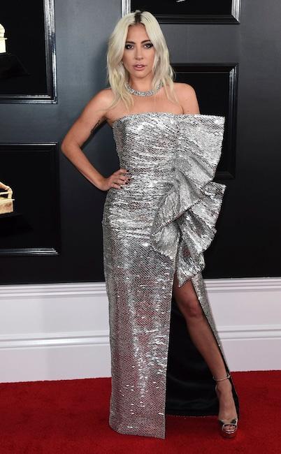 Lady Gaga, 2019 Grammys, 2019 Grammy Awards, Red Carpet Fashions