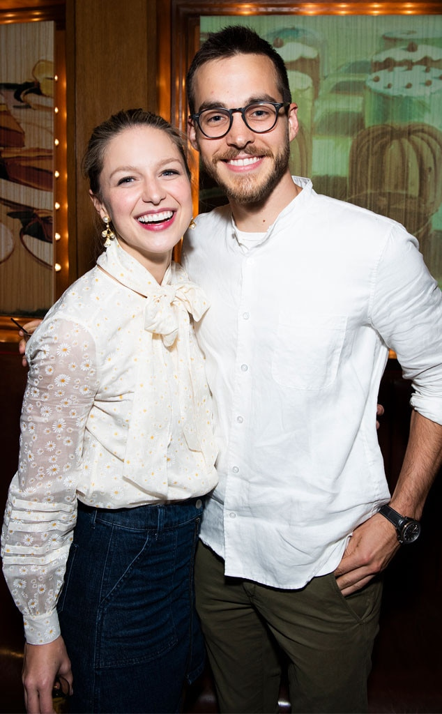"""Melissa Benoist & Chris Wood -  The  Supergirl  co-stars-turned-real-life-couple revealed  they are engaged  on Feb. 10, posting the """"happiest"""" news on their Instagram accounts."""