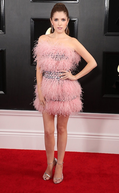 Anna Kendrick, 2019 Grammys, 2019 Grammy Awards, Red Carpet Fashions