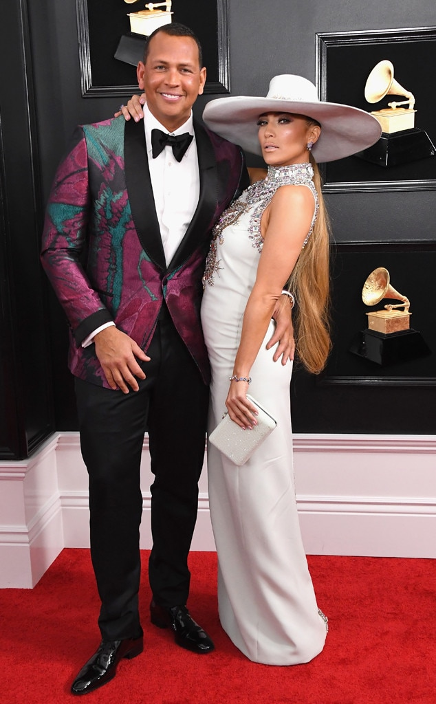 Jennifer Lopez, Alex Rodriguez, Couples, Grammy Awards 2019