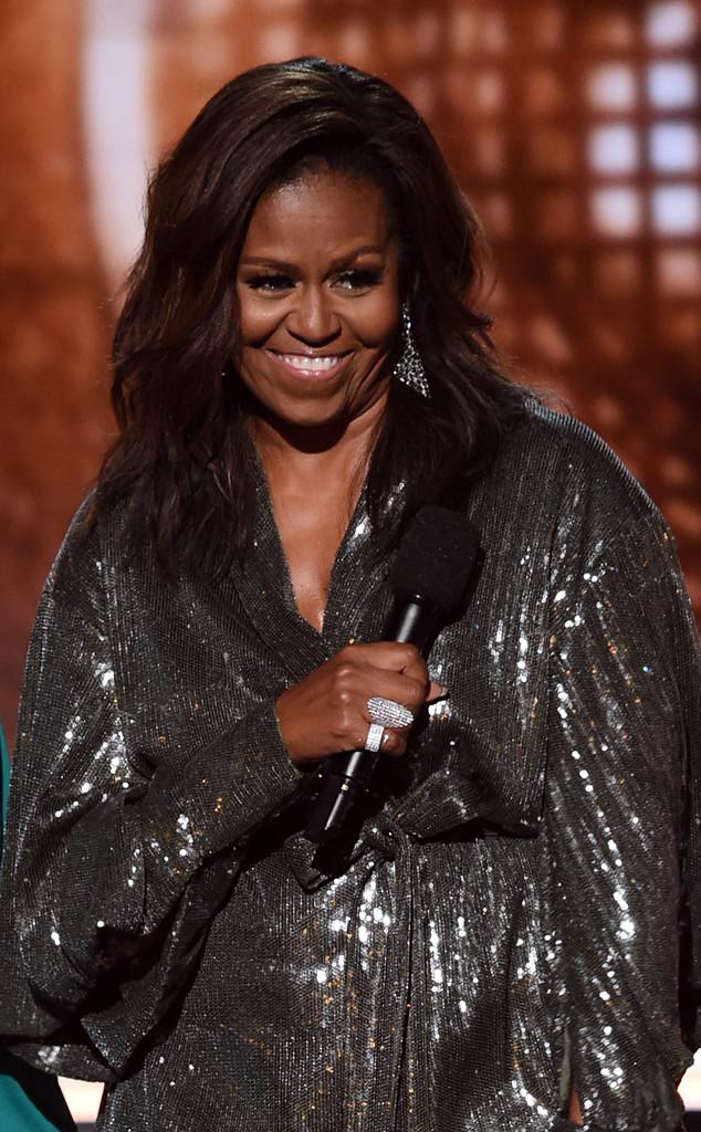Michelle Obama,  61st Annual GRAMMY Awards