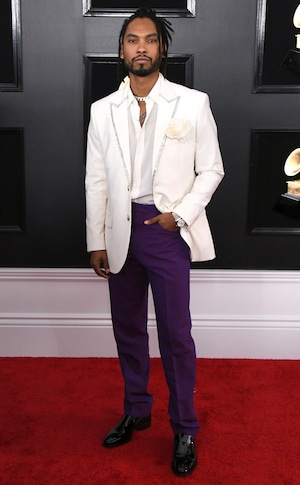 Miguel, 2019 Grammys, 2019 Grammy Awards, Red Carpet