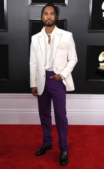 Miguel, 2019 Grammys, 2019 Grammy Awards, Red Carpet