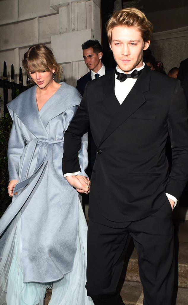 February 2019 -  Swift and Alwyn have a glamorous night out after the 2019 BAFTA Film Awards.