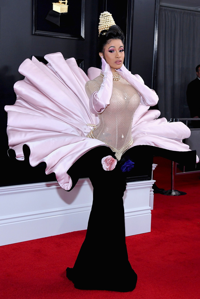Image result for cardi b grammy 2019