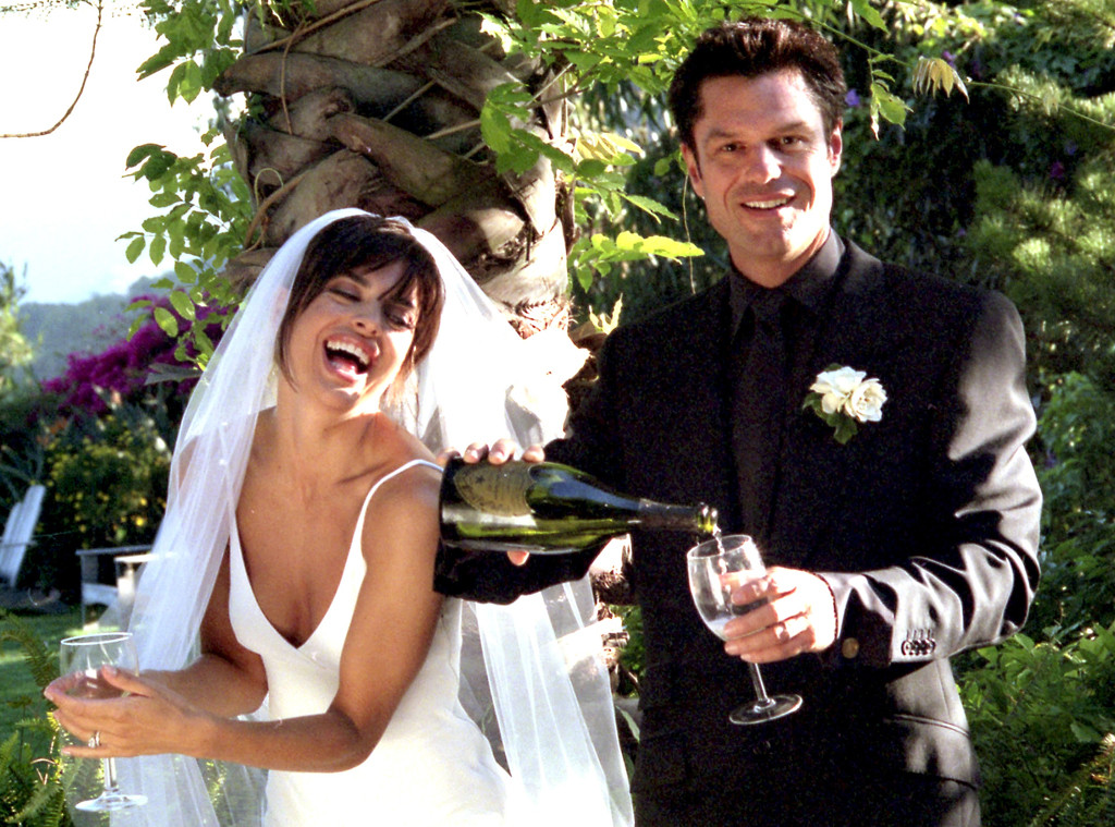 Lisa Rinna, Harry Hamlin, Wedding, 1997