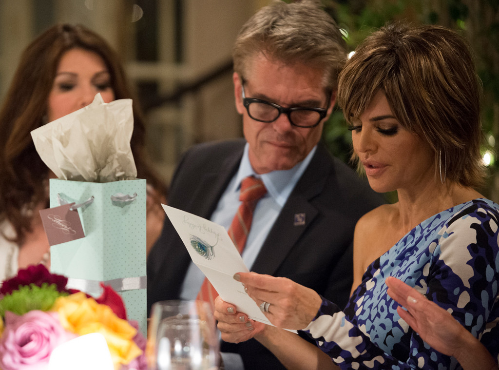 Lisa Rinna, Harry Hamlin, The Real Housewives of Beverly Hills