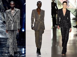 Fashion Week 2019, Trends, Embellished Suits