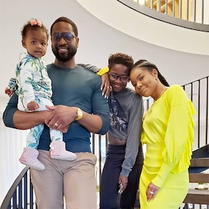 Dwyane Wade, Gabrielle Union, Kids, Zion, Kaavia, Instagram, Thanksgiving 2019