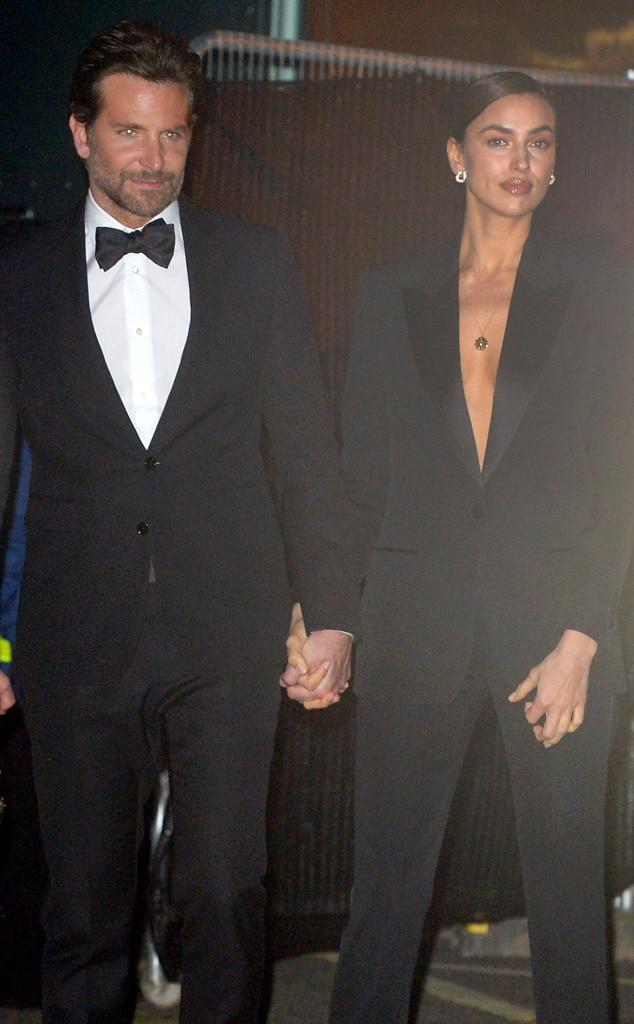 Suited Up -  The dynamic duo coordinated in matching outfits, both rocking suits at the British Academy Film Awards.