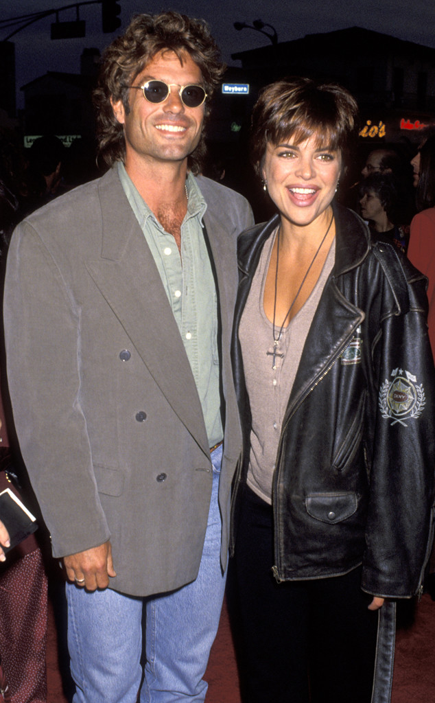 Lisa Rinna, Harry Hamlin, 1993
