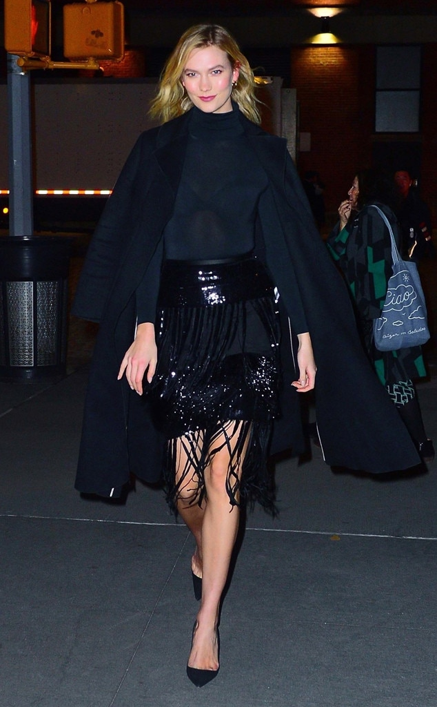 Karlie Kloss -  Fringe fan!