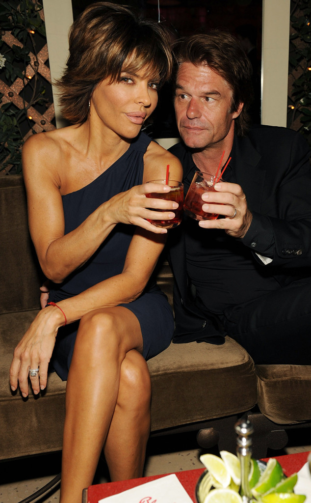 Lisa Rinna, Harry Hamlin, 2009