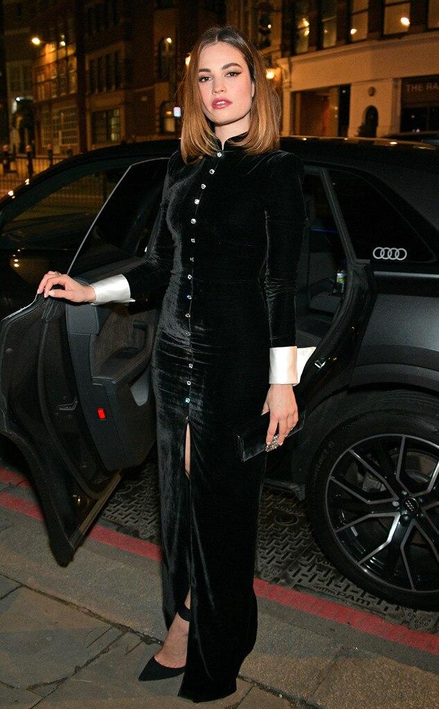 Lily James, British Independent Film Awards
