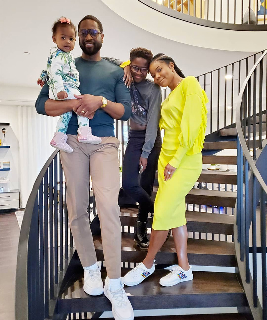 Dwyane Wade, Gabrielle Union, Kids, Zion, Kaavia, Instagram, Thanksgiving 2019