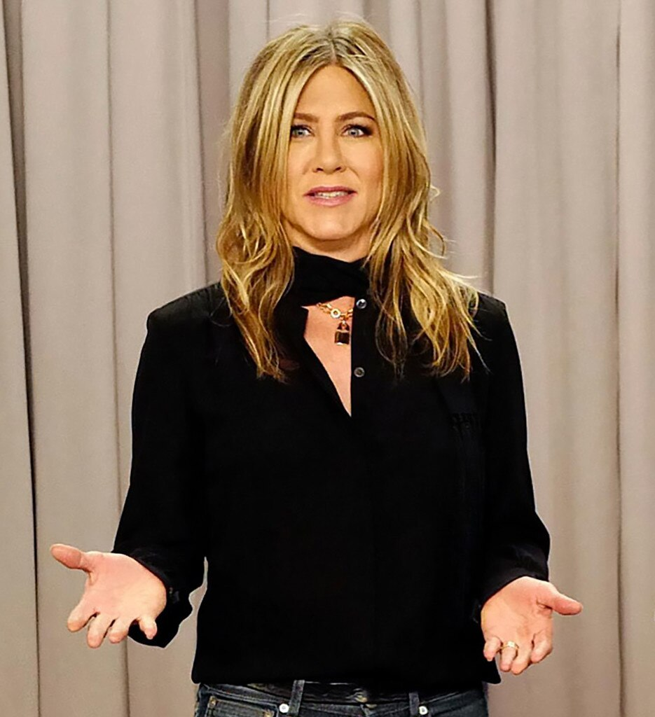 -  21. Due to her high-profile love life, Aniston has been a tabloid fixture (arguably THE tabloid figure) for decades, constantly the subject of headlines about her heartbreaks, hook-ups, the never-ending love triangle with Pitt and Jolie, and possibly being pregnant every other week.