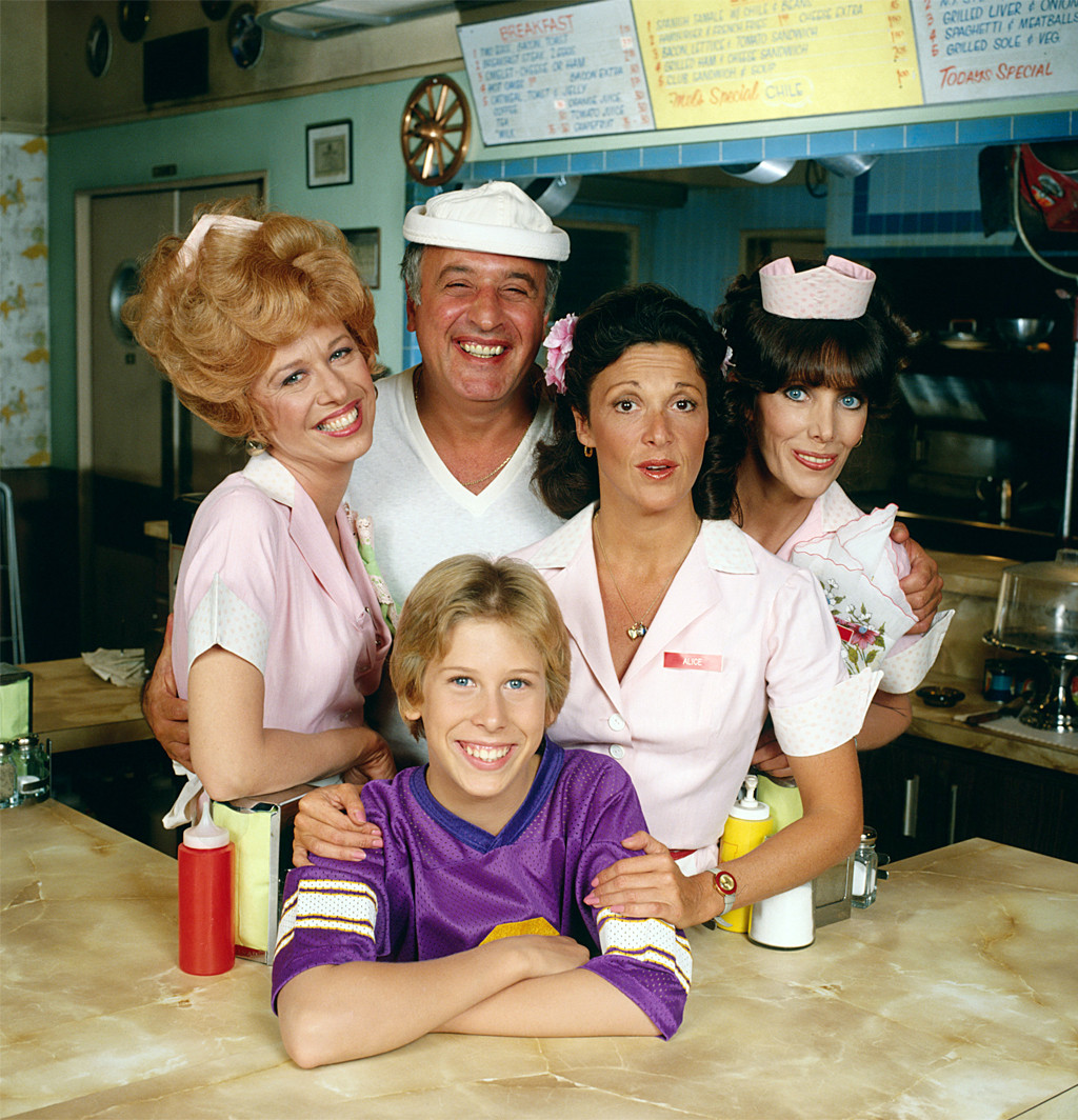Alice, Polly Holliday, Vic Tayback, Philip McKeon, Linda Lavin, Beth Howland