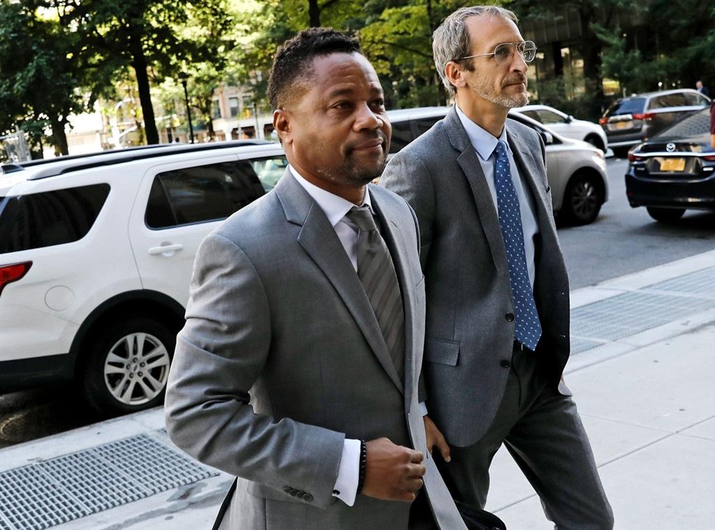 Cuba Gooding Jr., Court