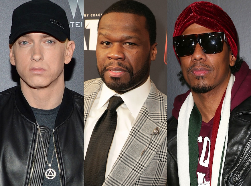 Eminem, 50 Cent, Nick Cannon