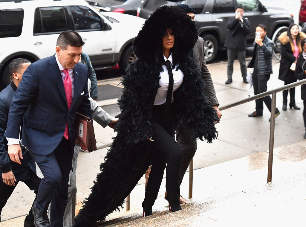 Cardi B Back in New York Court for Strip Club Fight